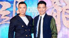 Andy Lau and Donnie Yen sing praises for each other