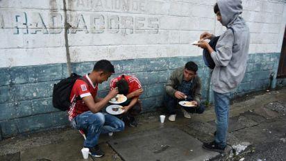 Guatemala : des milliers de Honduriens fuient la misère et la violence sans billet de retour