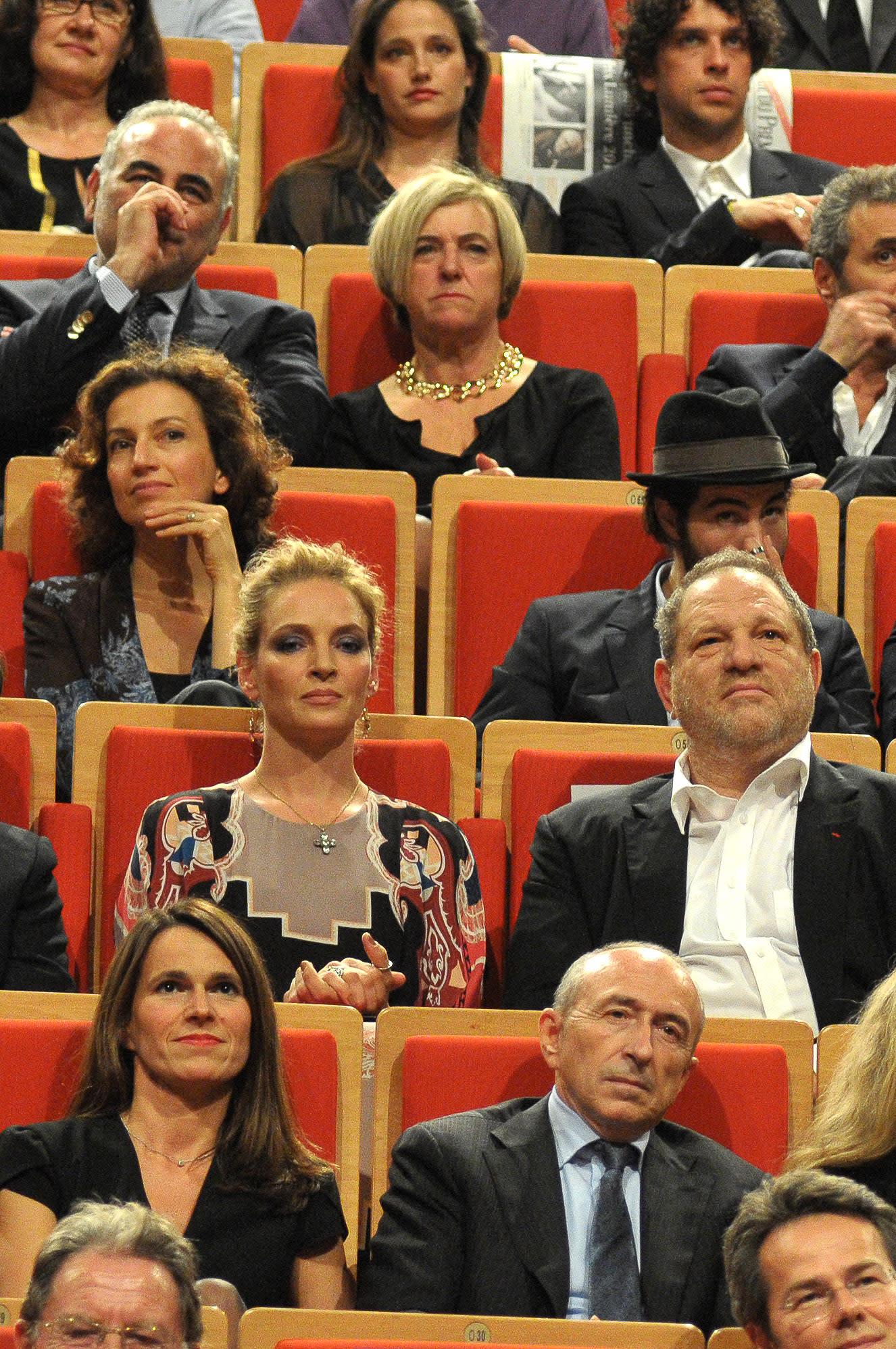 Uma Thurman Harvey Weinstein Quentin Tarantino [Video]