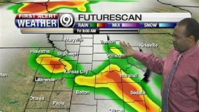 Stormy Weather Could Move In For Your Friday
