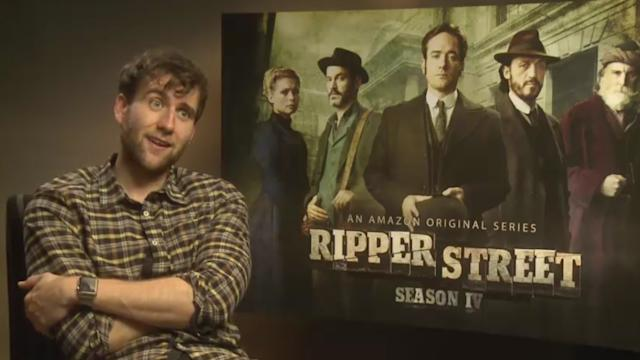 Ripper Street's Matthew Lewis has his eye on a part in Game of Thrones