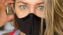 Jeniffer Aniston faz apelo para seguidores usarem máscara