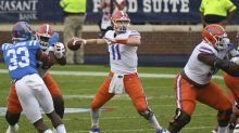 Kyle Trask throws 4 TDs to Kyle Pitts as No. 5 Florida easily beats Ole Miss