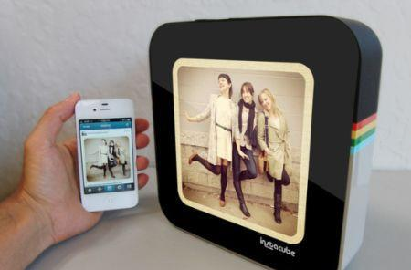 The Instacube displays your Instagram pictures with class