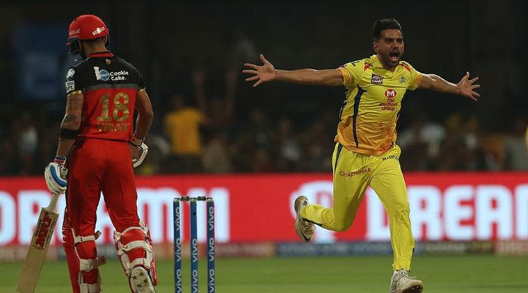 IPL 2019, RCB vs CSK Live Cricket Score: Royal Challengers Bangalore take on Chennai Super Kings. (Source: IPL)