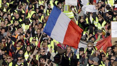 «Gelbwesten»-Protest: Keine Krawalle, aber neue Forderungen