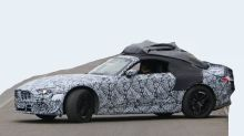 Mercedes-Benz SL-Class spied with whole body in view