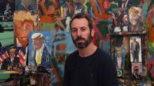 """""""Avant toute chose, sachez que je ne l'aime pas"""" : un peintre israélien immortalise Donald Trump sur 120 toiles surprenantes"""