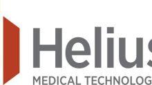 Helius Medical Technologies Announces $3.4 Million Private Placement