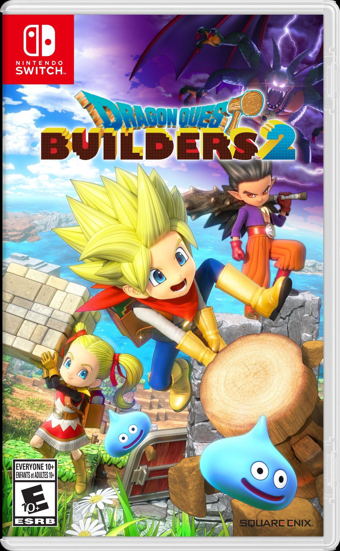 Nintendo News: DRAGON QUEST BUILDERS 2 Digital Pre-Purchase Starts Today; DLC Coming Soon