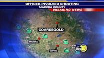 Man killed after allegedly trying to run over a deputy in Madera County
