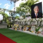 US envoy caps Taiwan trip with tribute to late democracy leader