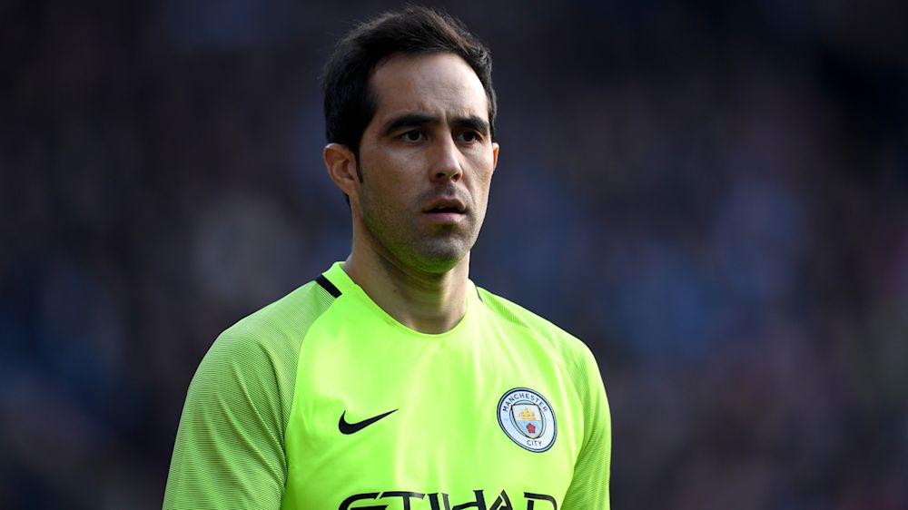 Claudio Bravo ne compte pas quitter Manchester City