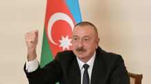 Azeri leader says he will fight 'to the end' if Karabakh talks fail