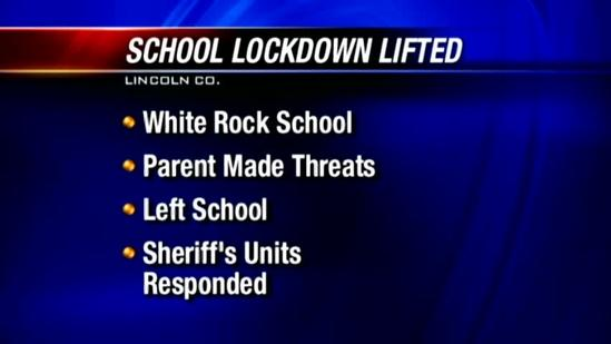 School reopens after threat prompts lockdown