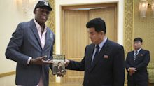 Dennis Rodman gave North Korea's sports minister Trump's 'Art of the Deal'