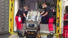 Opositor russo chega a hospital de Berlim