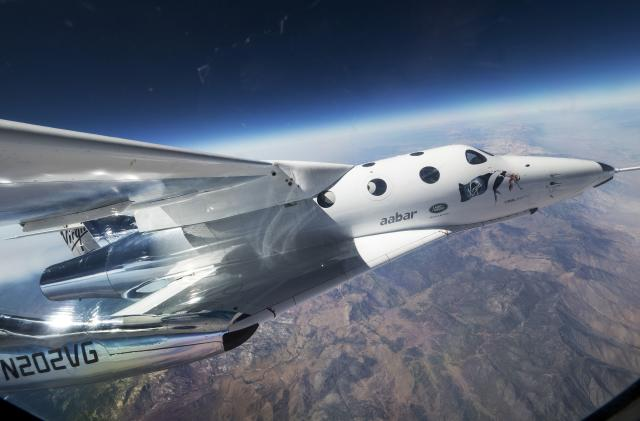 SpaceShipTwo's next big test flight could happen this weekend