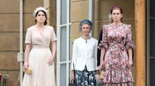 Princess Eugenie & Princess Beatrice Take The Queen's Garden Party In Style
