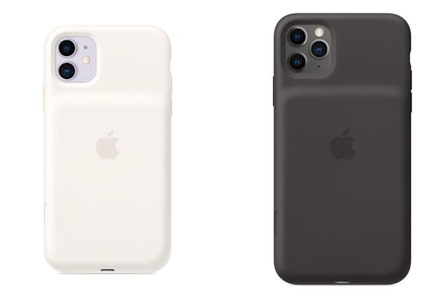 Apple's iPhone 11 battery case includes a dedicated camera button