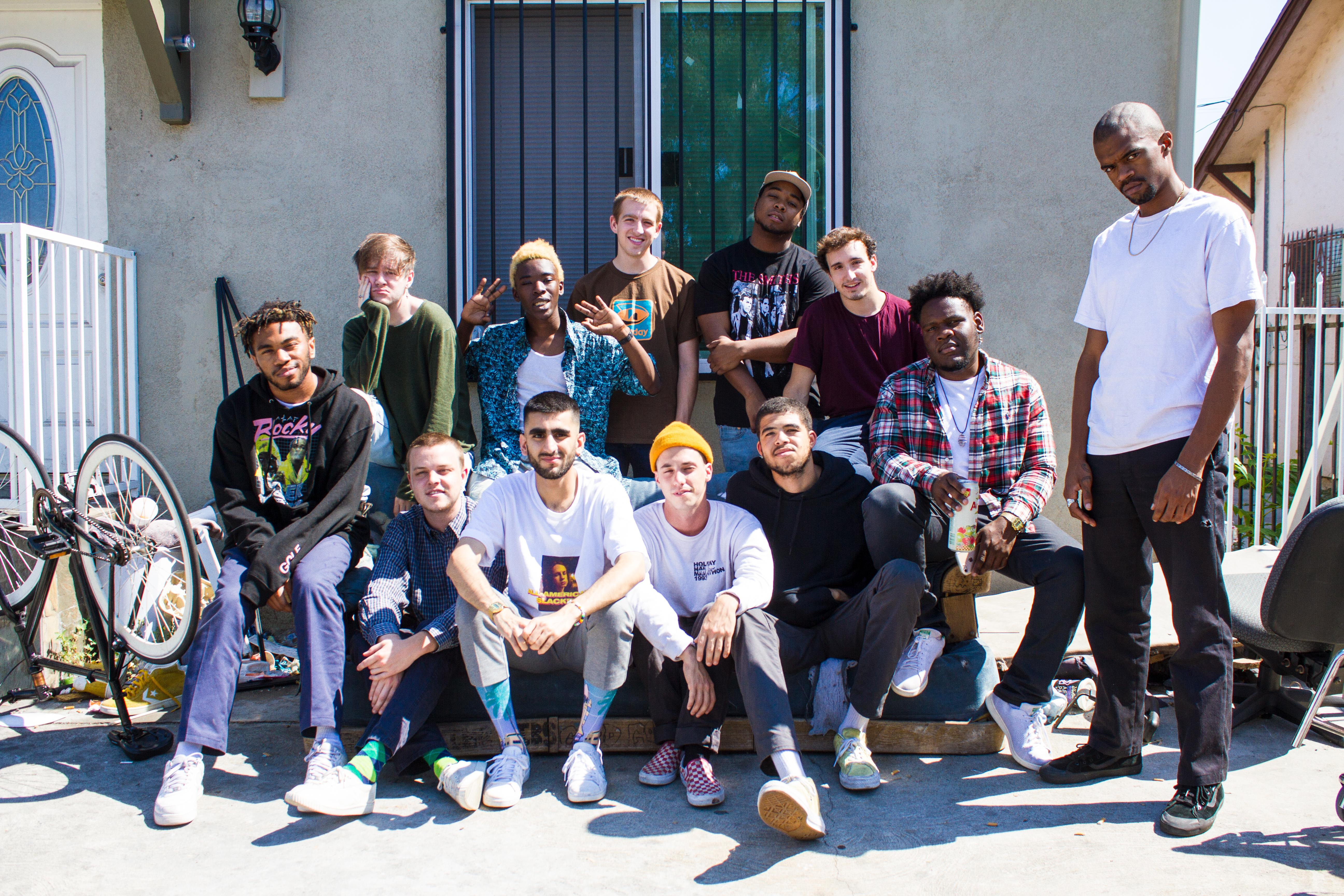 Brockhampton is not yet a household name but its on its way The LAbased group dubbed the internets first boy band has over a million