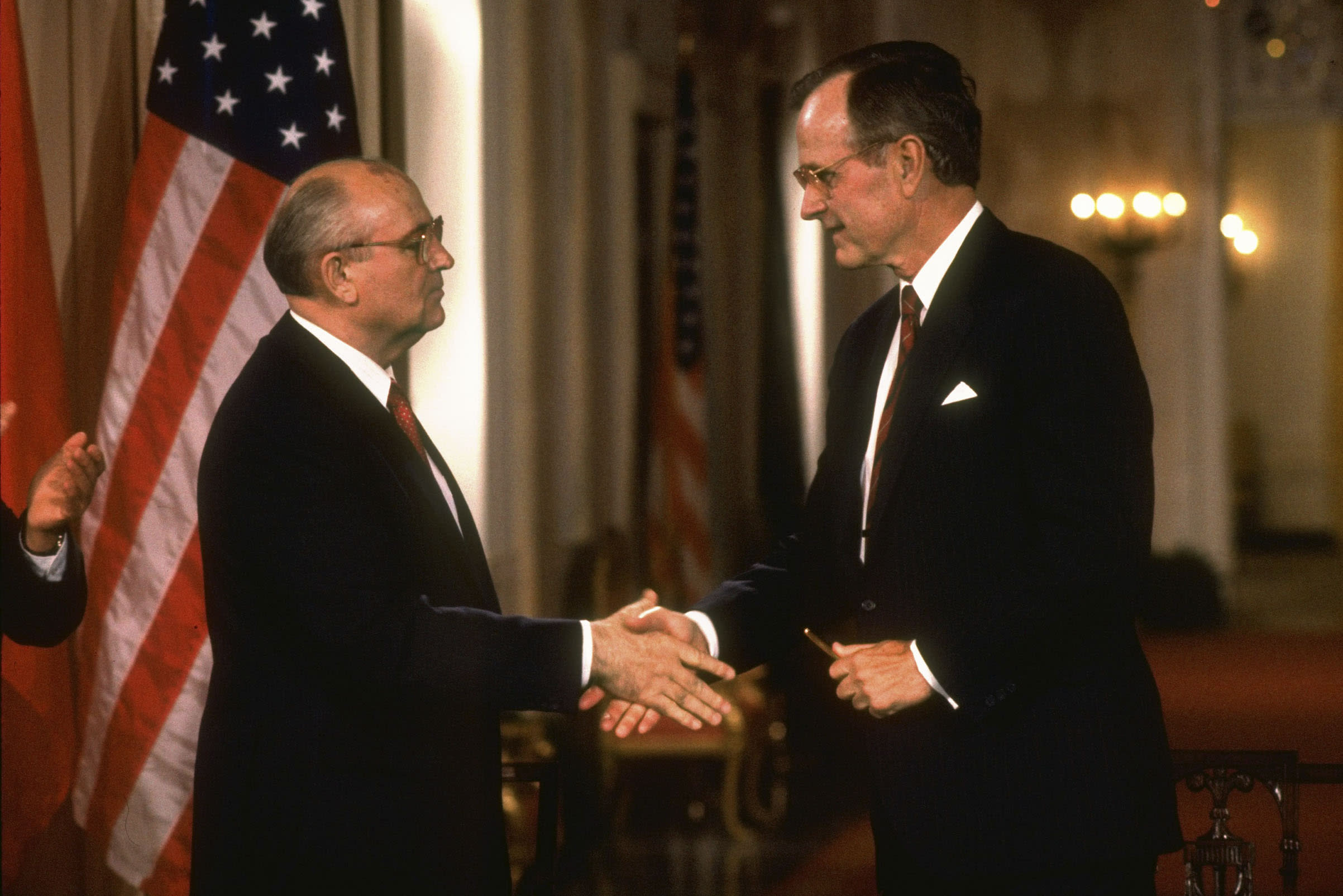 Mikhail Gorbachev: George H.W. Bush and I Ended a War Together. But Peace Is Now in Jeopardy