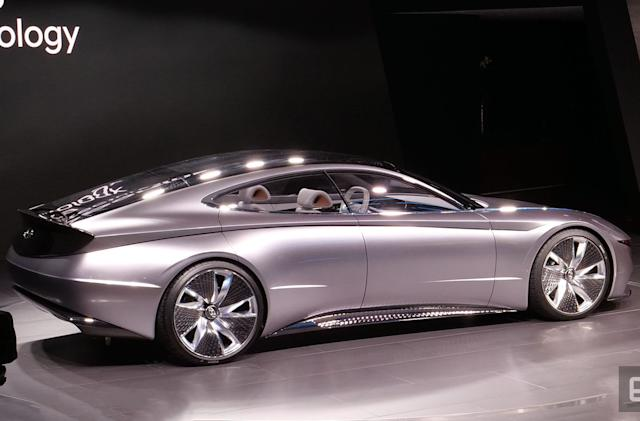 Hyundai's Le Fil Rouge concept is the future of the automaker's design