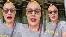 """Sharon Stone recomenda criar """"quartos do pânico"""" durante protestos nos EUA"""