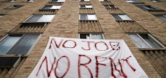 Rent, mortgage crisis could spark 'waterfall effect'