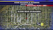 Police investigate Central Fresno home invasion