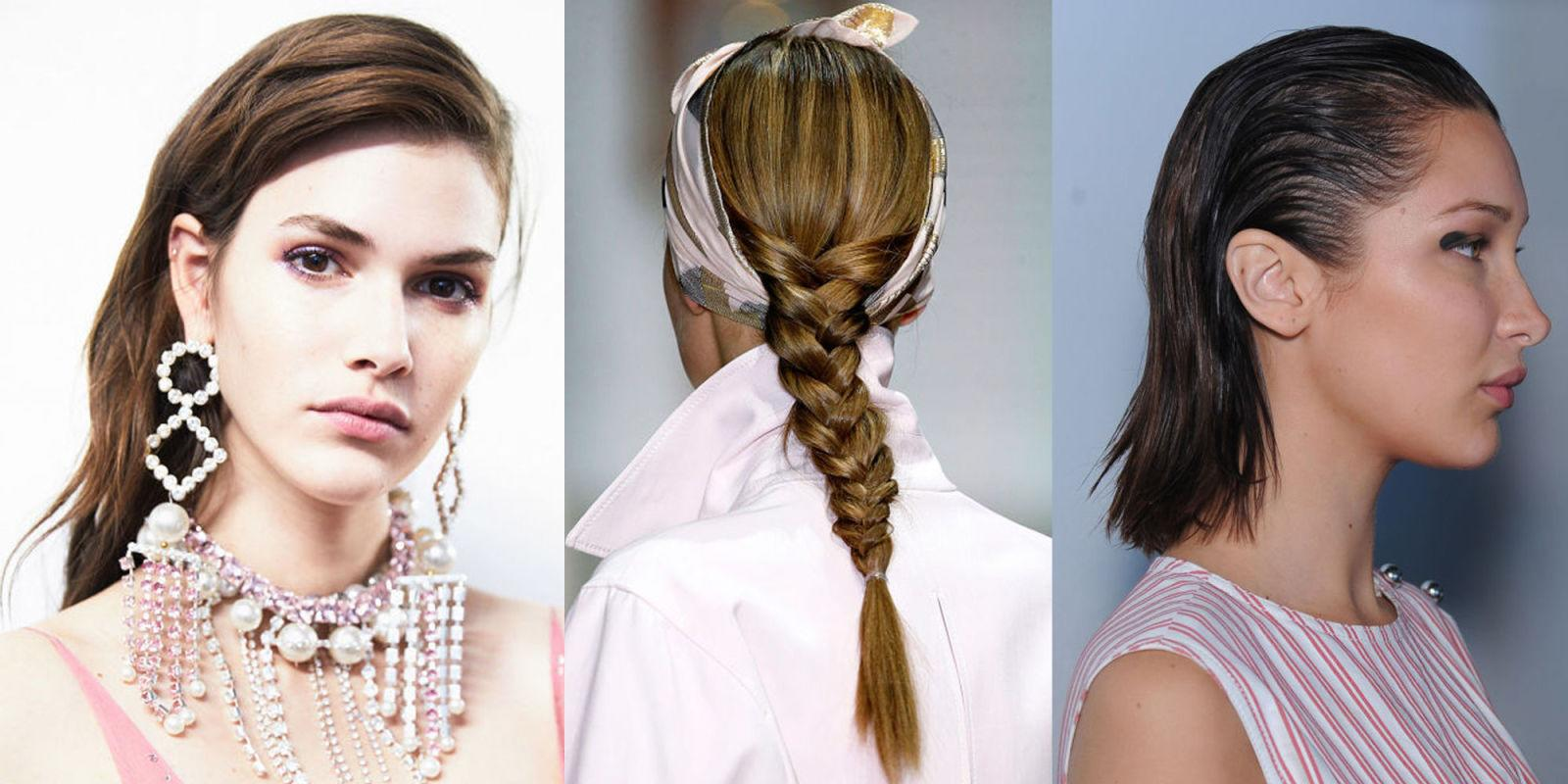 The Key Hair Trends For Spring Summer 2018