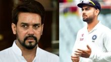 Anurag Thakur slams BCCI, claims they compromised the integrity of Virat Kohli