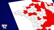 CARTE. Découvrez les 54 départements concernés par le couvre-feu