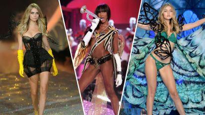 30 of the most memorable Victoria's Secret Fashion Show looks
