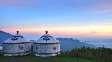 台灣也住得到蒙古包 雲海夕陽觀星一次賞足