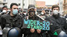 Pfingsten in Berlin: Hygiene-Demonstrationen: Mauerpark droht die Überfüllung