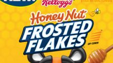 """Kellogg's® Cracks The """"Honey-Nut"""" With New Honey Nut Frosted Flakes™"""