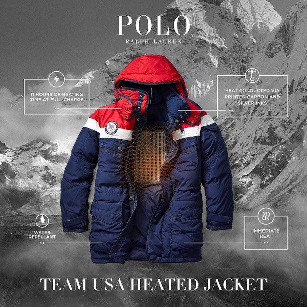 Team Usas Special Heated Jackets Arent Cheap