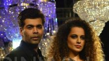 Karan Johar is still gung ho about Kangana's Nepotism comment and here's proof