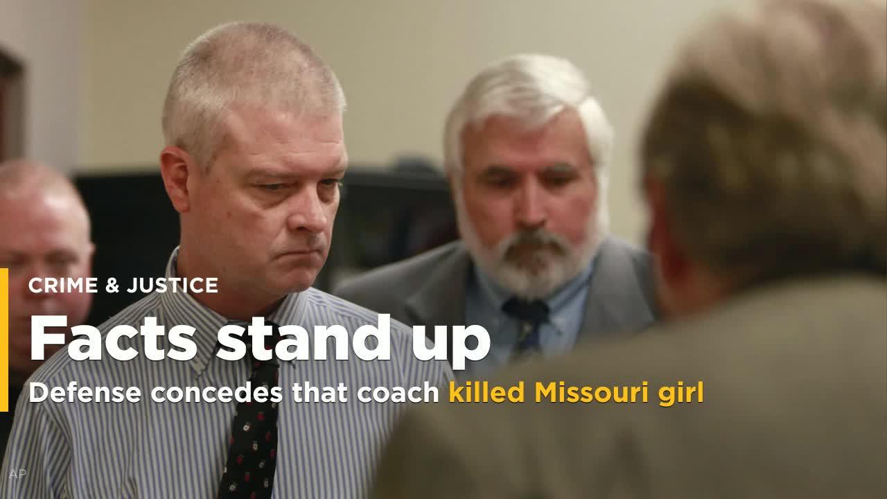 Defense Concedes Coach Kidnaped Raped Killed Missouri