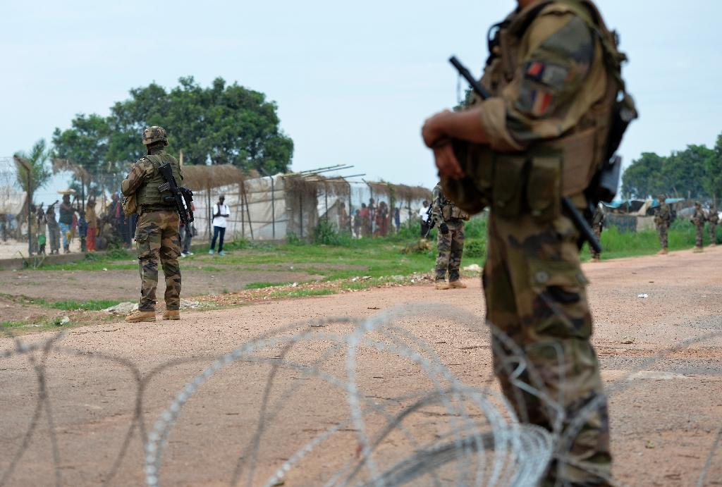 French deployed more than 2,500 troops to the Central African Republic in 2013, as thousands of civilians were killed in ethnic violence between Christians and Muslims (AFP Photo/Miguel Medina)