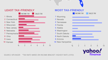 These are the best and worst states for taxes in 2019