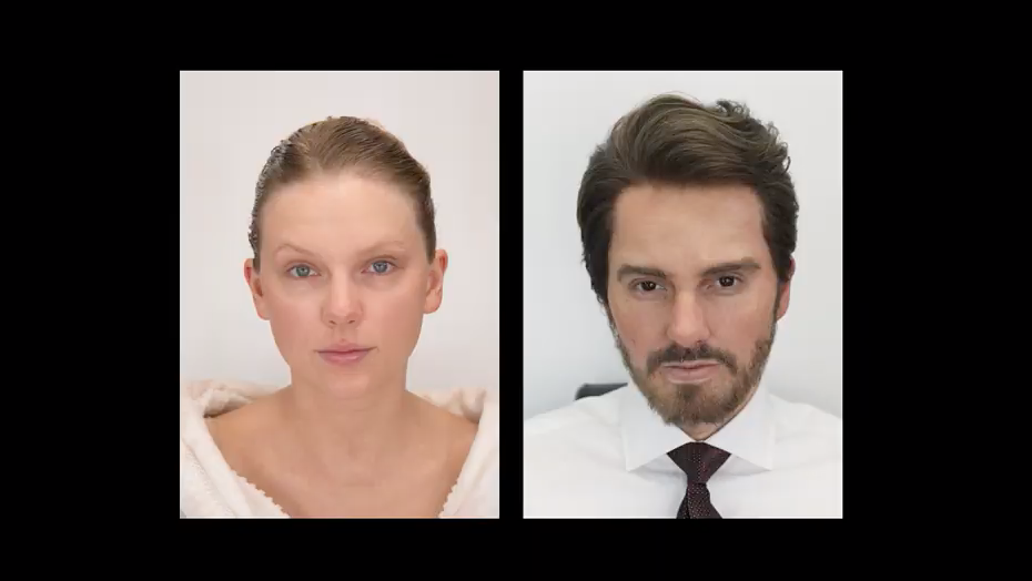 Taylor Swift unrecognisable as she transforms into a man for scathing new music video