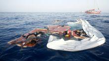 Migrante náufraga sobrevive junto a dois mortos no Mediterrâneo