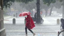Super piogge sull'Italia