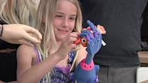 7-year-old Girl Gets 3-D Printed 'Robohand'