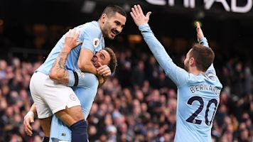 Could Man City pull off gigantic double?