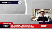 UK economy 'sucked black hole' by Coronavirus
