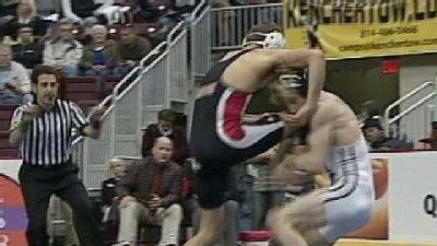 Wrestlers Wrap Up Day One Of Grueling State Tourney