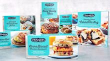 Cinnabon Just Released a Frozen Breakfast Line With Caramel Pecan Rolls and CinnaSweet Swirls